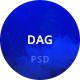 Dag Blog PSD Template
