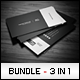 Business Cards Bundle #1 - GraphicRiver Item for Sale