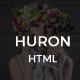 Huron - Clean & Elegant Blog HTML