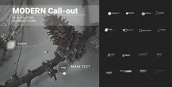 VideoHive Modern Call-outs 19600715
