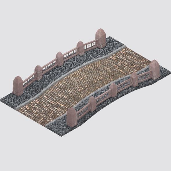 Medieval Bridge - 3DOcean Item for Sale