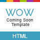 WowSoon - Coming Soon Template