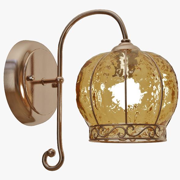 Wall lamp Arte Lamp A2106AP-1AB - 3DOcean Item for Sale