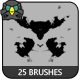 25 Rorschach Brushes