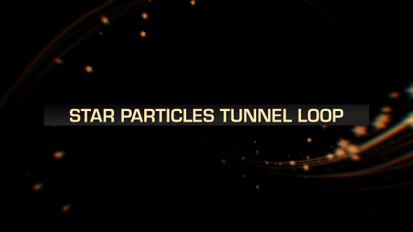 VideoHive Stars Tunnel Loop 19601316