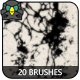 20 Ink Splatter Brushes