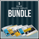 Square Brochure Template Bundle