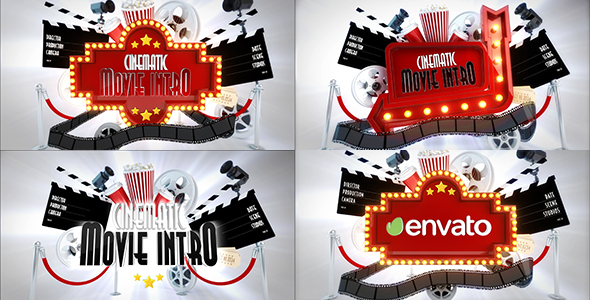 VideoHive Cinematic Movie Logo Reveal bundle 19601500