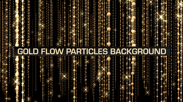 VideoHive Gold Flow Loop V3 19601528