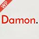 Damon - Resume<hr/> Personal</p><hr/> CV</p><hr/> vCard WordPress Theme&#8221; height=&#8221;80&#8243; width=&#8221;80&#8243;></a></div><div class=