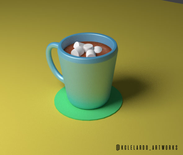 Hot Chocolate - 3DOcean Item for Sale