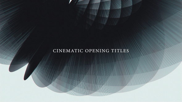 VideoHive Cinematic Opening Titles 19602320