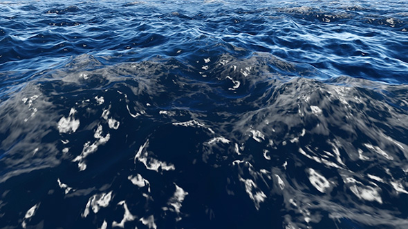 VideoHive Flight Over Waves Slow Motion 19602744