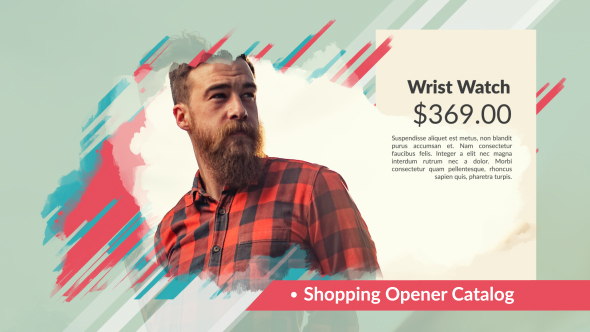 VideoHive Shopping Opener Catalog 19602935