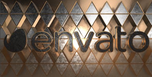 VideoHive Metal Rhombus Logo 19603054