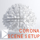 Download Corona studio scene setup from 3DOcean