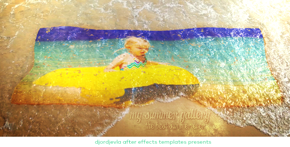 VideoHive My Summer Wave Gallery 19603084