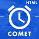 Comet - Beautiful Creative Template for Coming Soon Page