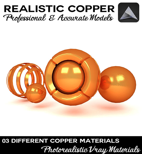 3DOcean Copper Material 19604114