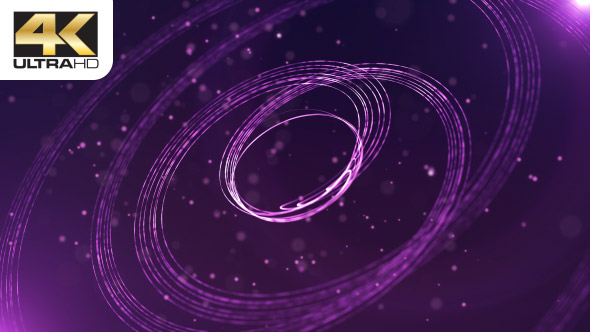 VideoHive Purple Stripes and Particles 19604189