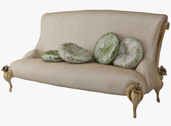 Sofa BITOSSI LUCIANO - 3DOcean Item for Sale
