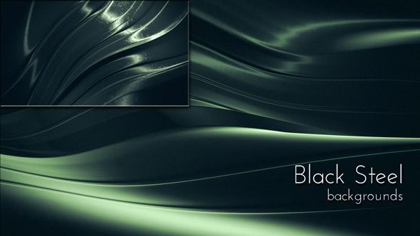 VideoHive Black Steel Background 19604498