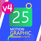 25 Motion Graphic Elements Pack V4