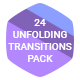 24 Unfolding Transitions Pack
