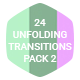 24 Unfolding Transitions Pack 2
