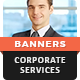 HTML5 Ads - Corporate Services Animated Banner Templates (GWD)