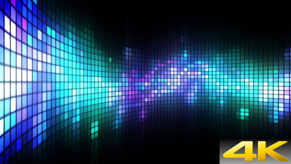 VideoHive Dance Lights Wall 19605899