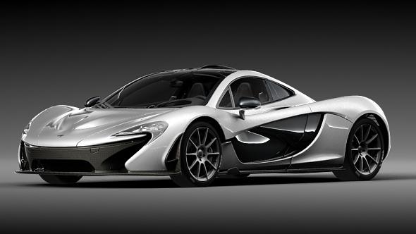 McLaren P1 - 3DOcean Item for Sale