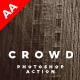 Crowd Photoshop Action