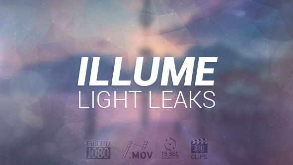 VideoHive Illume Light Leaks & Bokehs 19606929