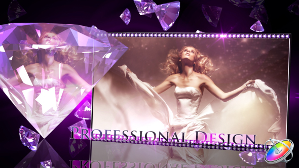 VideoHive Diamonds Forever Apple Motion 19607125