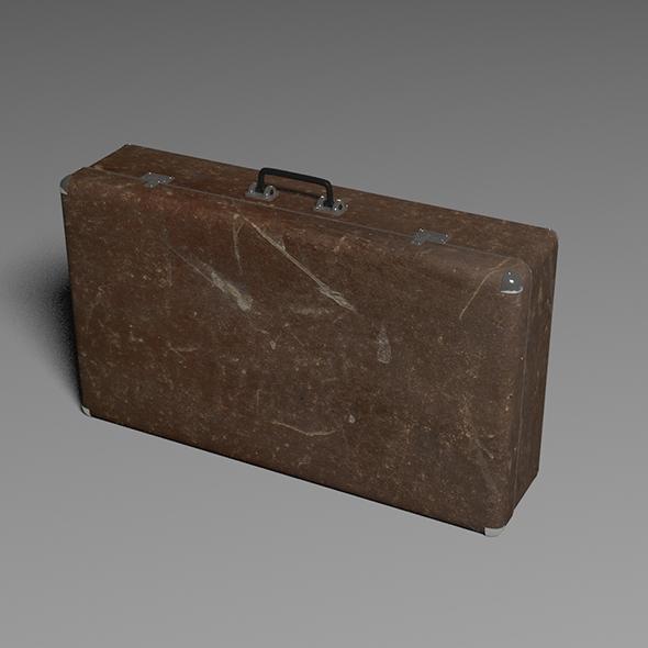 suitcase - 3DOcean Item for Sale
