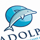 Sea Dolphin Logo Template
