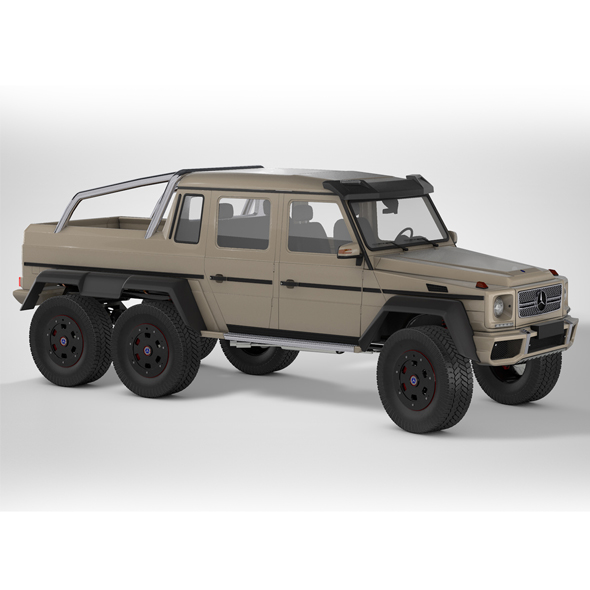 Mercedes G63 AMG 6X6 - 3DOcean Item for Sale