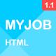 Myjob - Job Postings HTML5 Template
