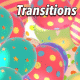 Colorful Easter Eggs Transitions