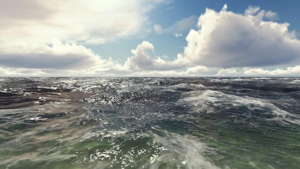 VideoHive Ocean Waves Slow Motion 19608207