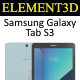 Element3D - Samsung Galaxy Tab S3