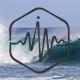 Waves Hit the Beach