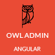 OwlAdmin - Angular Admin Dashboard