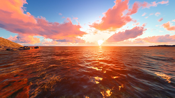 VideoHive Sunset In 30 Seconds 19608794