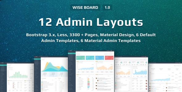 Download WiseBoard | Responsive Multi-Purpose Admin Template
