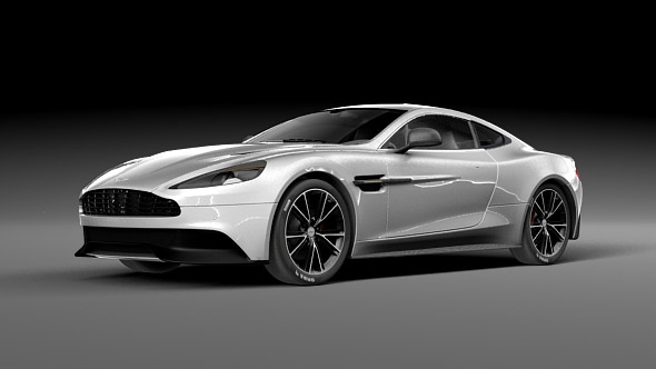 Aston Martin Vanquish - 3DOcean Item for Sale