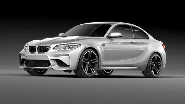 BMW M2 Coupe - 3DOcean Item for Sale