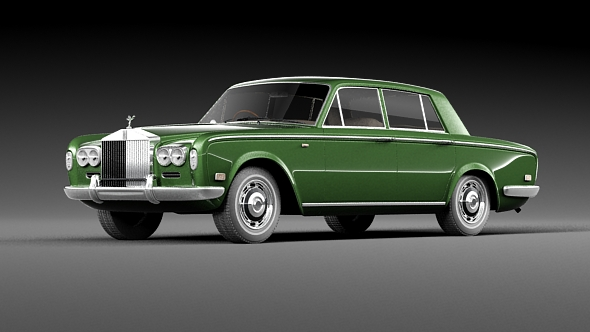 3DOcean Rolls Royce Silver Shadow 1965 19609252