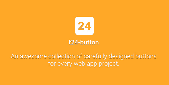 t24-button - Awesome Collection of CSS3 Buttons